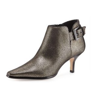 Donald J Pliner Lure Metallic Ankle Bootie 9